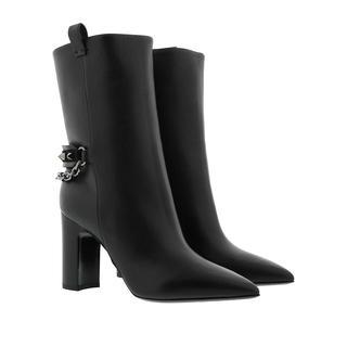 Valentino - Boots - Medium Boots Leather Black - in schwarz - für Damen
