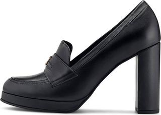 TOMMY HILFIGER - Loafer-Pumps Polished Tommy in schwarz, Slipper für Damen