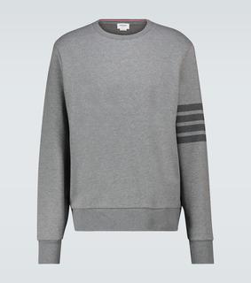 Thom Browne - Sweatshirt 4-Bar aus Baumwolle