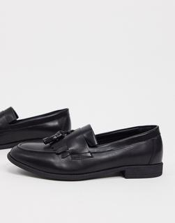 New Look - Tasselloafer in Schwarz
