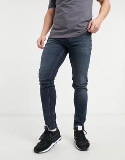 Tommy Jeans - Simon – Enge Jeans in verwaschenem Schwarz