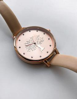 Brave Soul - Uhr mit roségoldfarbenem Zifferblatt