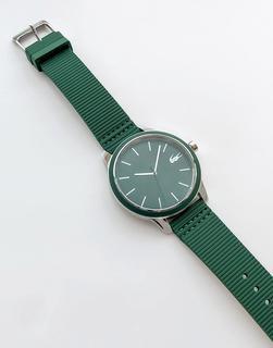 lacoste - 12.12 – Silikon-Armbanduhr 2011085 in Grün