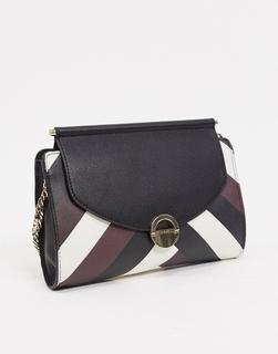Fiorelli - Kate – Clutch-Tasche in Chevron-Mehrfarbig