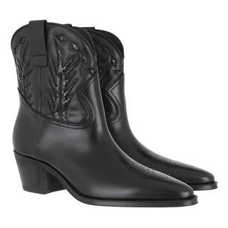 Celine - Boots - Western Ankle Boots Calfskin Black - in schwarz - für Damen