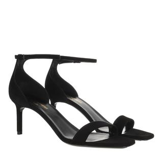 Saint Laurent - Sandalen - Sandals Leather Black - in schwarz - für Damen