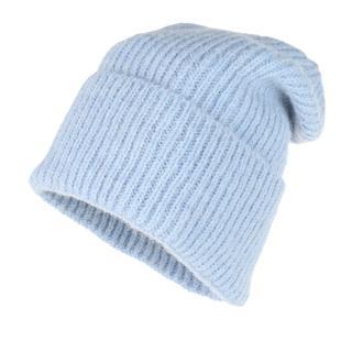 Becksöndergaard - Caps - Jadia Wool Mix Beanie Light Blue - in blau - für Damen