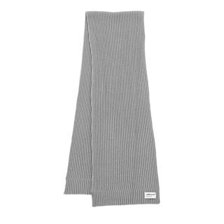 Embraced Studios - Accessoire - Wool-Cashmere Ribbed Scarf Grey - in grau - für Damen