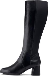 Geox - Leder-Stiefel D. Calinda M.d in schwarz, Stiefel für Damen