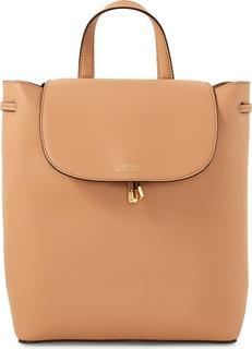 Lauren Ralph Lauren - Rucksack Flap Backpack Medium in mittelbraun, Rucksäcke für Damen