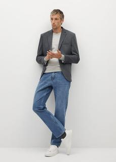 MANGO MAN - Slim fit-blazer aus baumwolle