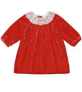 Bonpoint - Baby Kleid Flavili aus Samt