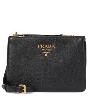 Prada - Schultertasche aus Leder
