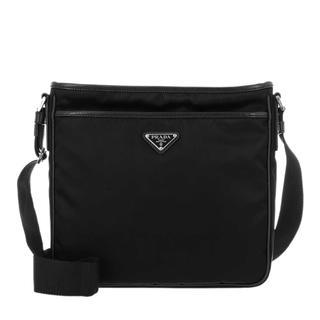 Prada - Umhängetasche - Mens Nylon Crossbody Bag Black - in schwarz - für Damen