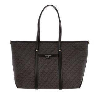 MICHAEL KORS - Shopper - Beck Large Tote Bag Brown/Black - in braun - für Damen - 211.20 €