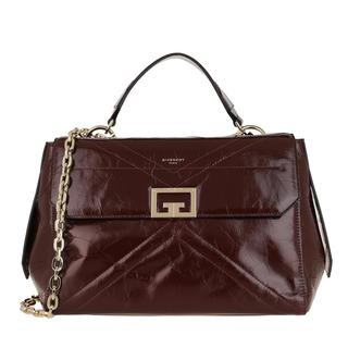 Givenchy - Satchel Bag - Medium ID Crossbody Bag Aged Leather Aubergine - in lila - für Damen