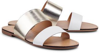 Vagabond - Pantolette Tia in gold, Sandalen für Damen