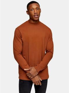 Topman - Mens 2 Pack Black And Brown Turtle Neck T-Shirt Multipack*, Multi