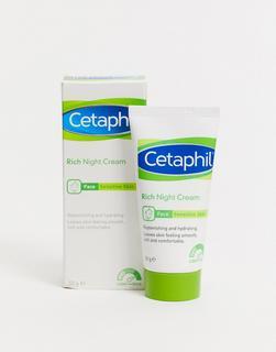 Cetaphil - Reichhaltige Nachtcreme für empfindliche Haut, 50 g-Keine Farbe