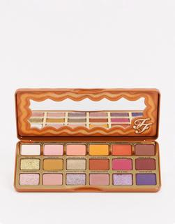 Too Faced Cosmetics - Too Faced – Pumpkin Spice– Lidschattenpalette in Warm & Spicy-Mehrfarbig