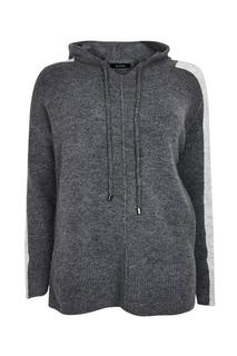 Evans - Grey Charcoal Hoodie, Grey
