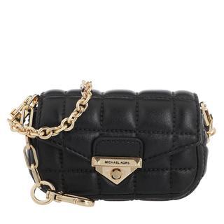 MICHAEL KORS - Umhängetasche - Xs Cnvclip Bag Charm Black - in schwarz - für Damen