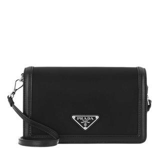 Prada - Umhängetasche - Crossbody Bag Nylon Leather Black - in schwarz - für Damen
