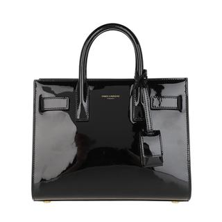 Saint Laurent - Umhängetasche - Nano Sac De Jour Crossbody Bag Leather Black - in schwarz - für Damen