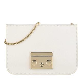 Furla - Umhängetasche - Metropolis Mini Crossbody Bag Talco - in weiß - für Damen