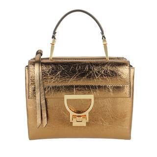 coccinelle - Umhängetasche - Handbag Laminated Leather Or - in gold - für Damen