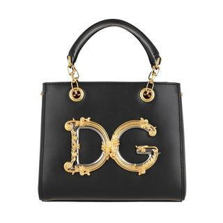 Dolce & Gabbana - Tote - DG Small Handle Bag Black - in schwarz - für Damen