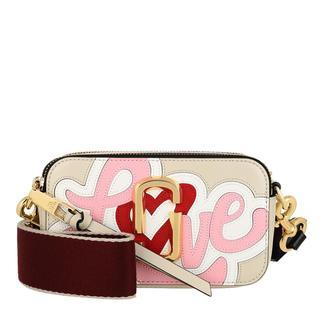 Marc Jacobs - Umhängetasche - Snapshot Crossbody Bag Oatmilk Multicolor - in beige - für Damen