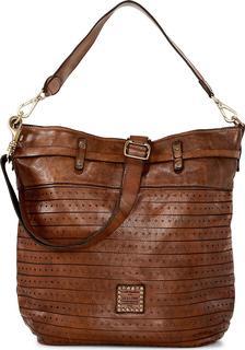 Campomaggi - Umhängetasche Shoulder Bag in mittelgrün, Schultertaschen für Damen