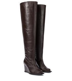 dorothee schumacher - Overknee-Stiefel Sophisticated Chic aus Leder