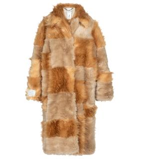 Stella Mccartney - Mantel Adrienne aus Faux Fur