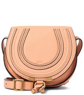 Chloé - Schultertasche Marcie Mini aus Leder
