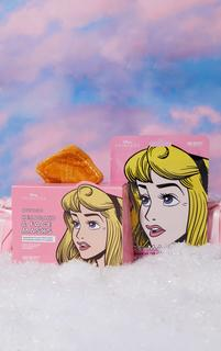 PrettyLittleThing - Disney Princess Face Mask & Headband Set Aurora, Pink