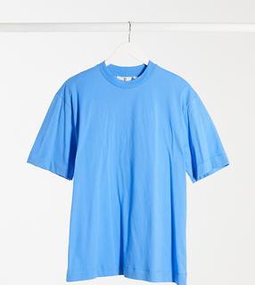 Collusion - Unisex – T-Shirt in Blau-Braun