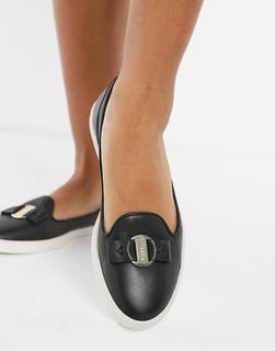 Fiorelli - Mia – Leder-Loafer in Schwarz