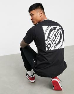 Dickies - FNB Box – Schwarzes T-Shirt mit rückwärtigem Logoprint