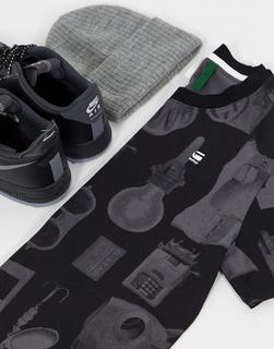 G-Star - Lash Materials – T-Shirt-Schwarz - 31.18 €