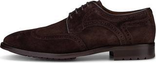 Lottusse - Derby-Schnürschuh in dunkelbraun, Business-Schuhe für Herren