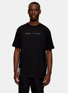 Topman - Mens New Icons T-Shirt In Black, Black