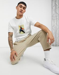 Parlez - Toulouse – Bedrucktes T-Shirt in Weiß