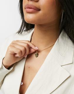 Pilgrim - Vergoldete Halskette mit Steinen aus Skandinavien