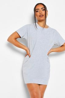 boohoo - Womens Basic Schlaf-T-Shirt - Grau - 36, Grau