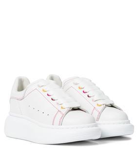 Alexander McQueen Kids - Sneakers aus Leder
