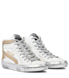 Golden Goose - Sneakers Slide aus Leder