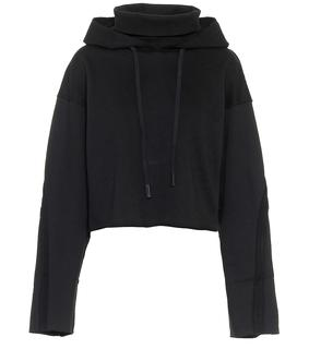 Alo Yoga - Cropped-Hoodie Effortless aus Fleece