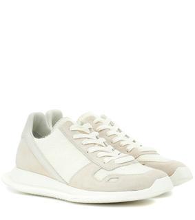 Rick Owens - Sneakers aus Veloursleder